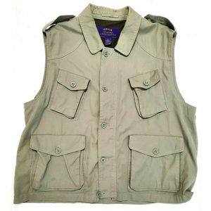 Orvis Mens Tan Fishing Vest Size XXL